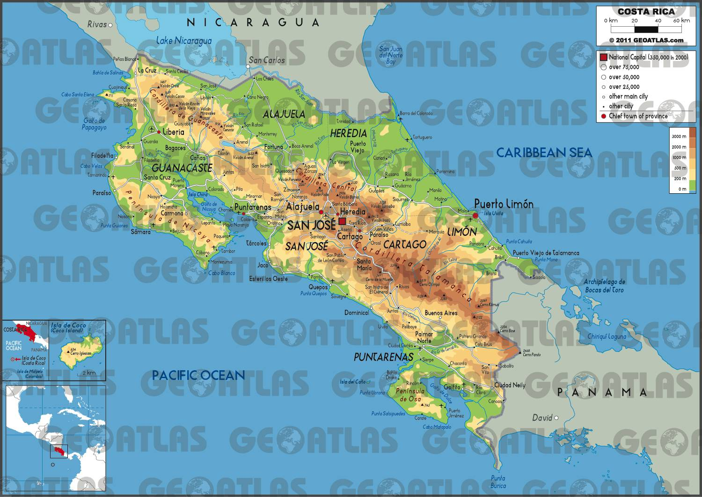 Costa Rica carte