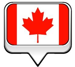 Drapeau bulle du Canada