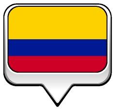 Drapeau bulle de la Colombie