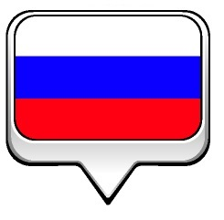 Drapeau de la Russie à bulle