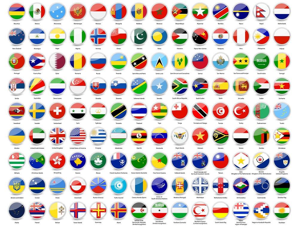 """Résultat de recherche d'images pour """"drapeaux du monde"""""""