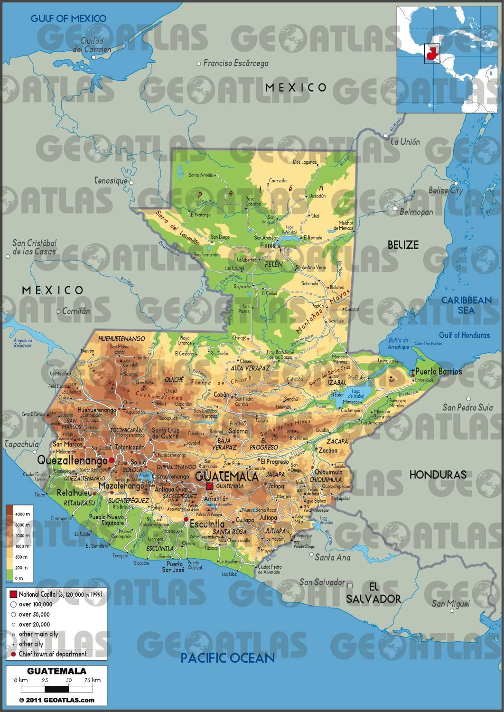 Guatemala carte