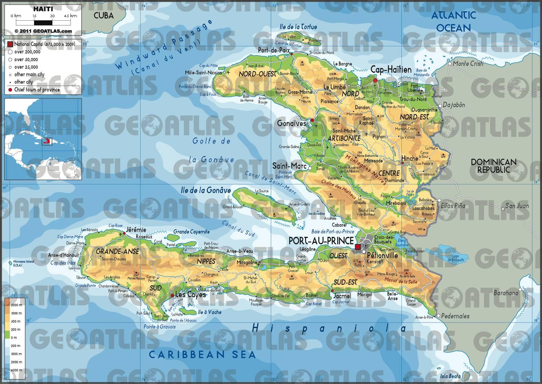 Haïti carte