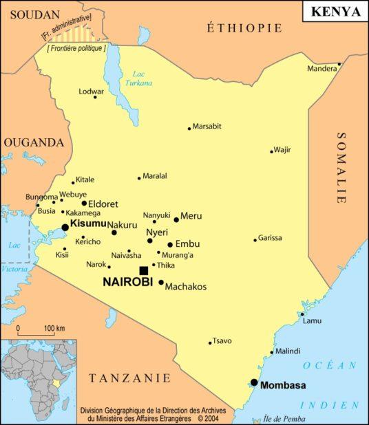 Kenya carte