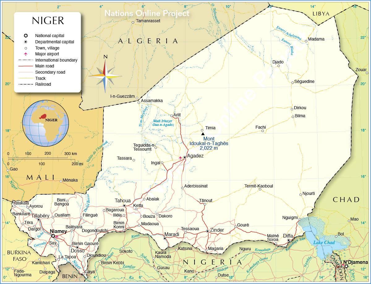 Niger carte