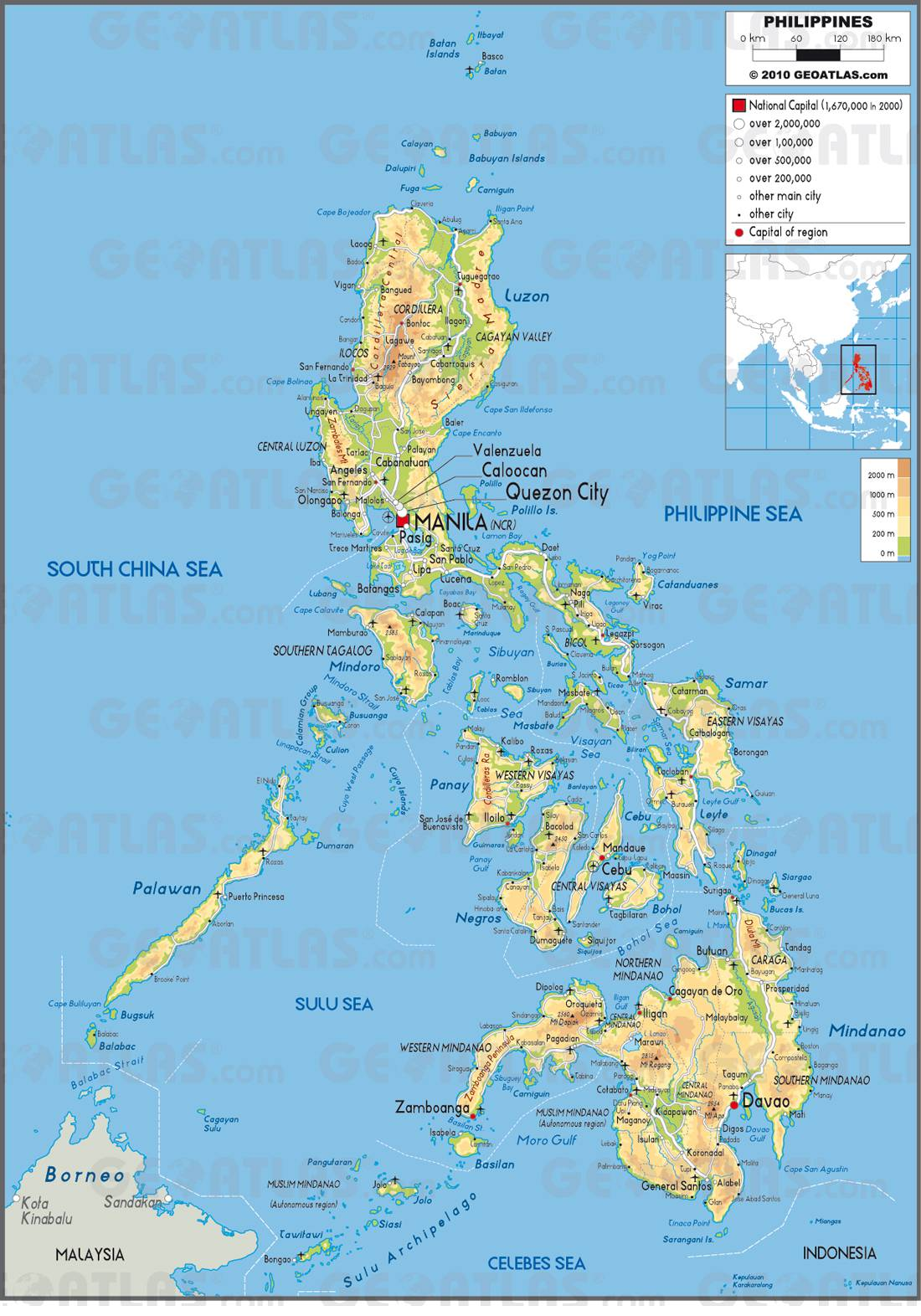 Philippines carte