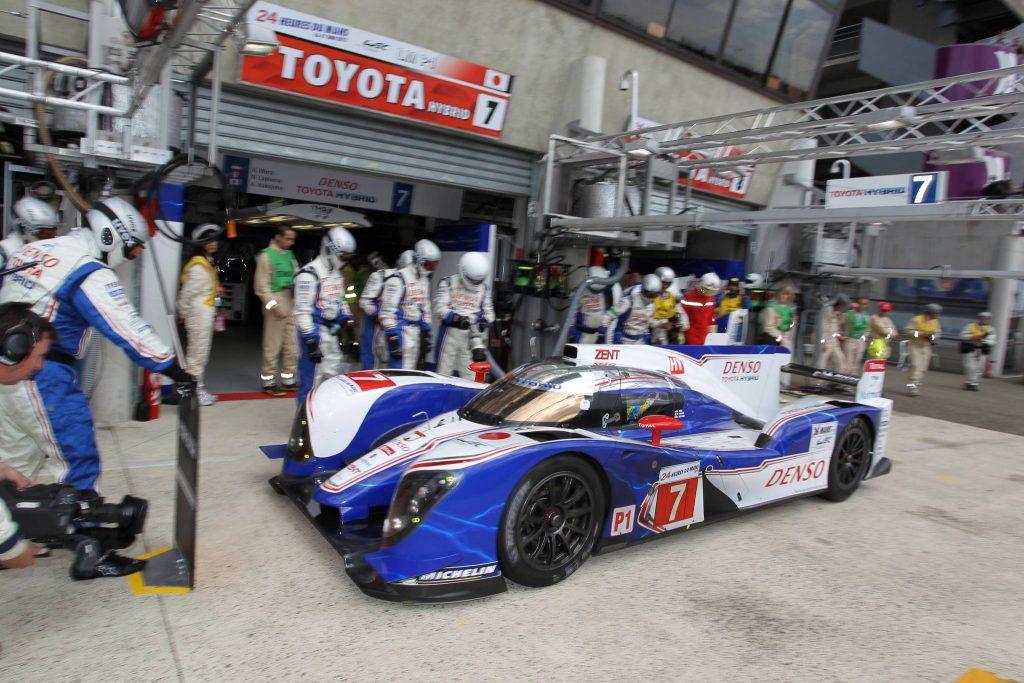 Arrêt au stand aux 24 heures du Mans