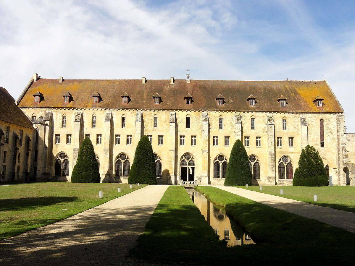 Bâtiment des moines de l'Abbaye de Royaumont