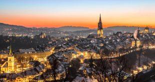 Berne (Suisse) parmi les capitales du monde