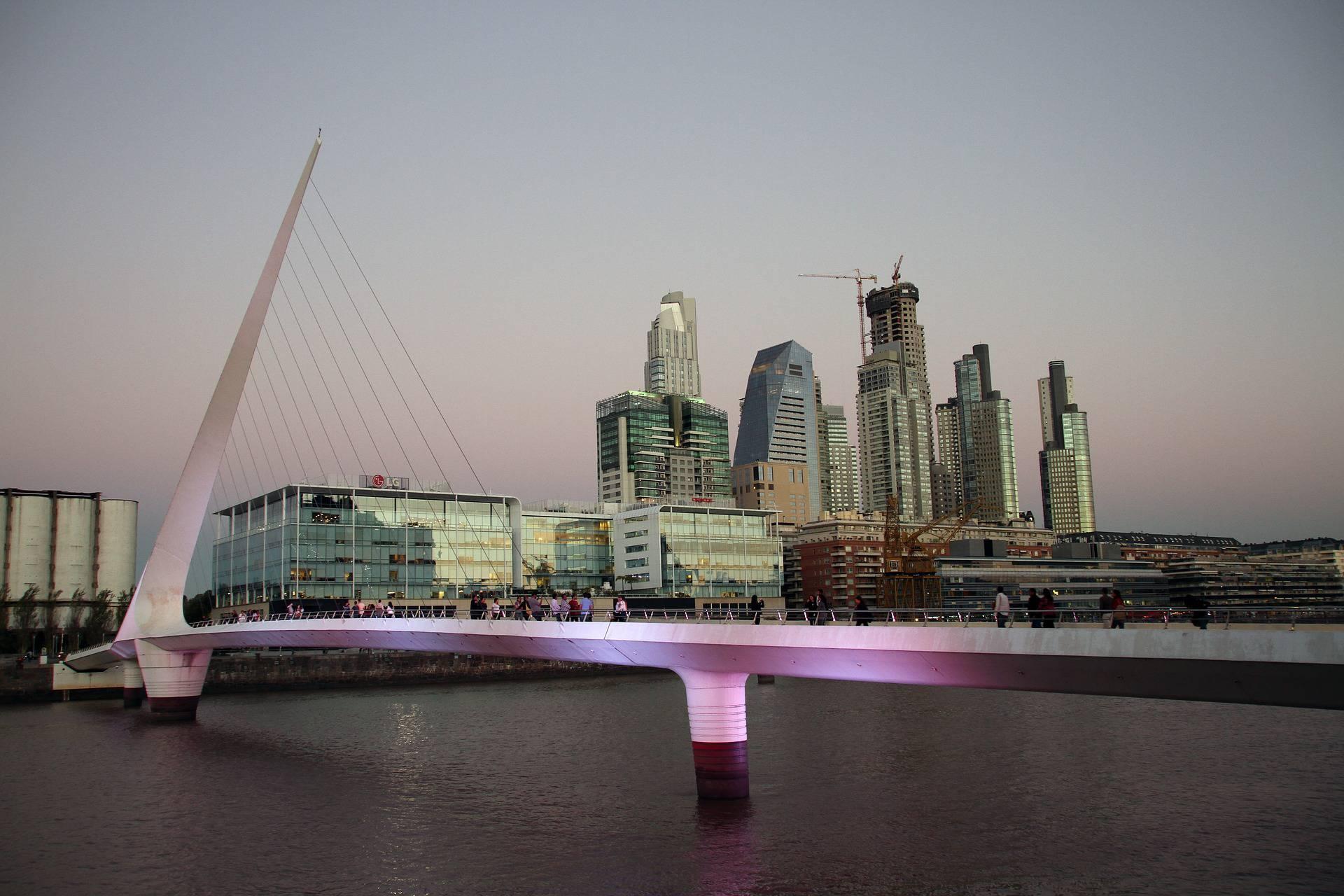 Buenos Aires (Argentine) parmi les capitales en Amérique du Sud