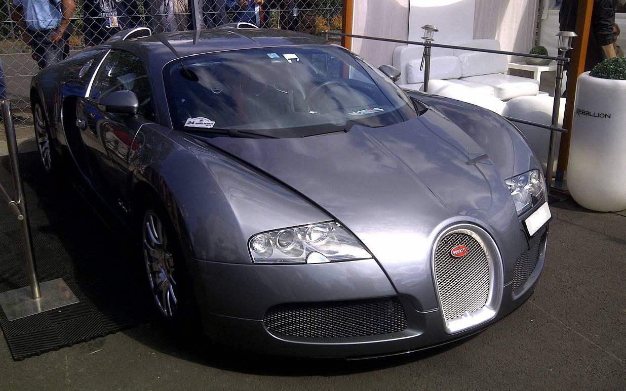 Bugatti Veyron - circuit des 24 heures du Mans
