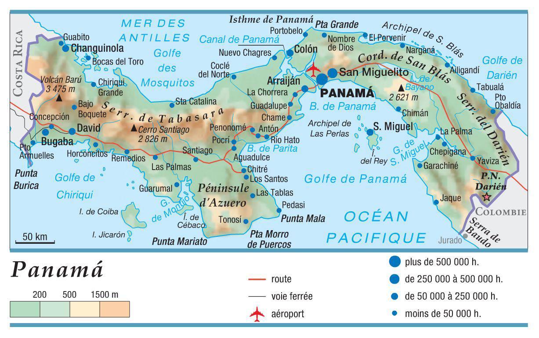 Photo of Carte du Panama