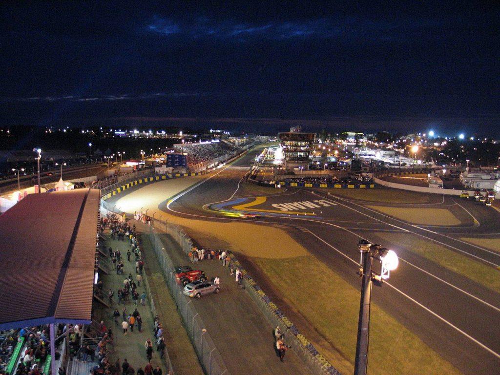 Circuit des 24 heures vue aérienne