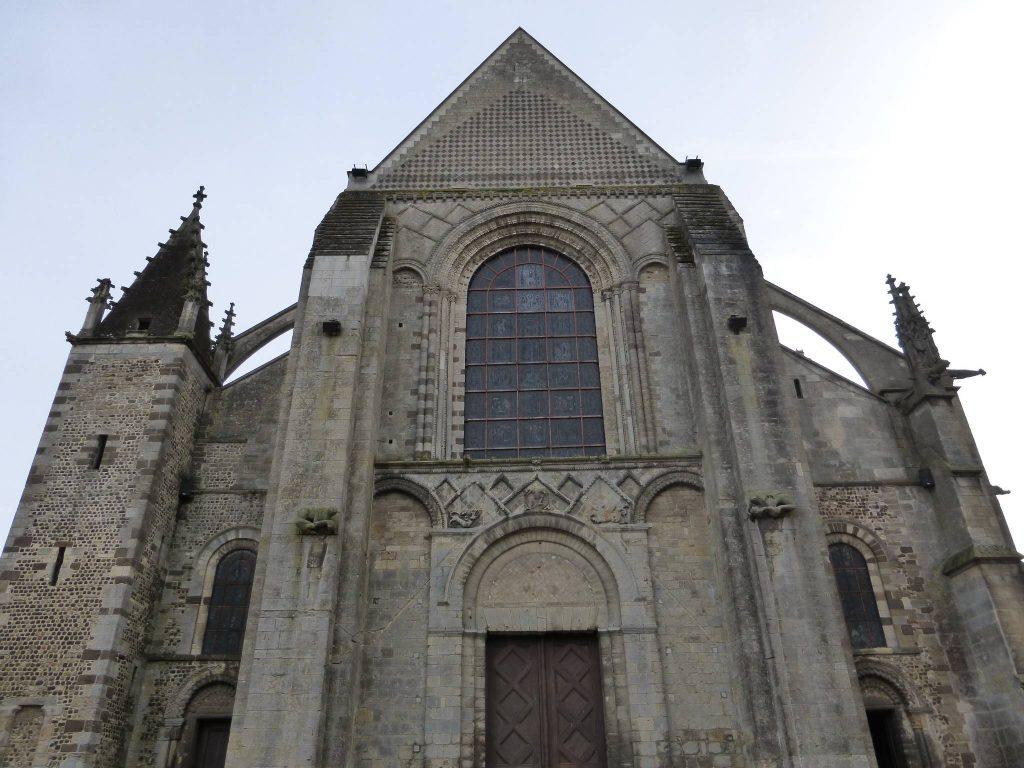 Entrée de la Cathédrale Saint-Julien au Mans