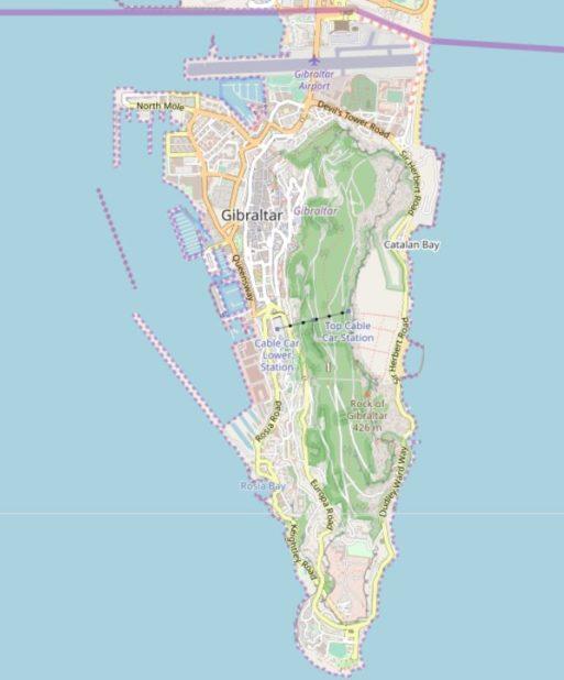 Gibraltar carte