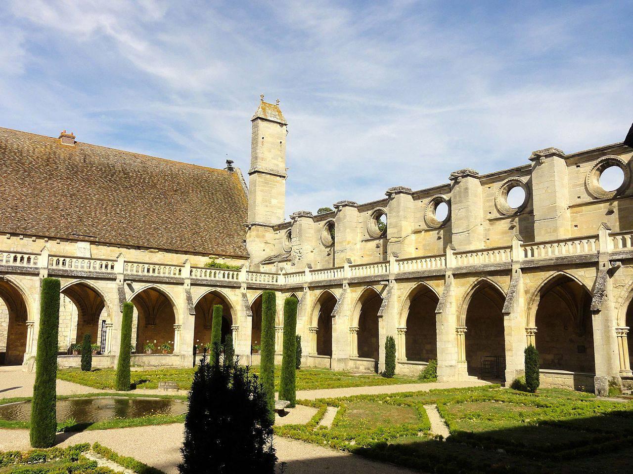 Nord ouest de l'Abbaye de Royaumont