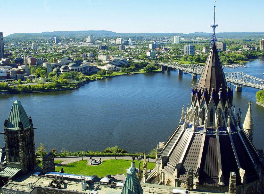 Ottawa (Canada) parmi les jolies villes en Amérique du Nord et Centrale