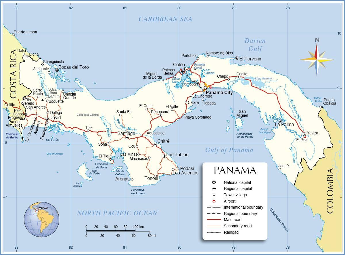 Panama carte