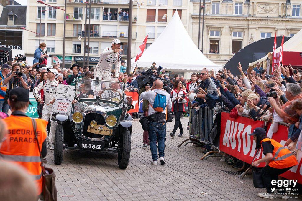 La parade des 24 heures du Mans