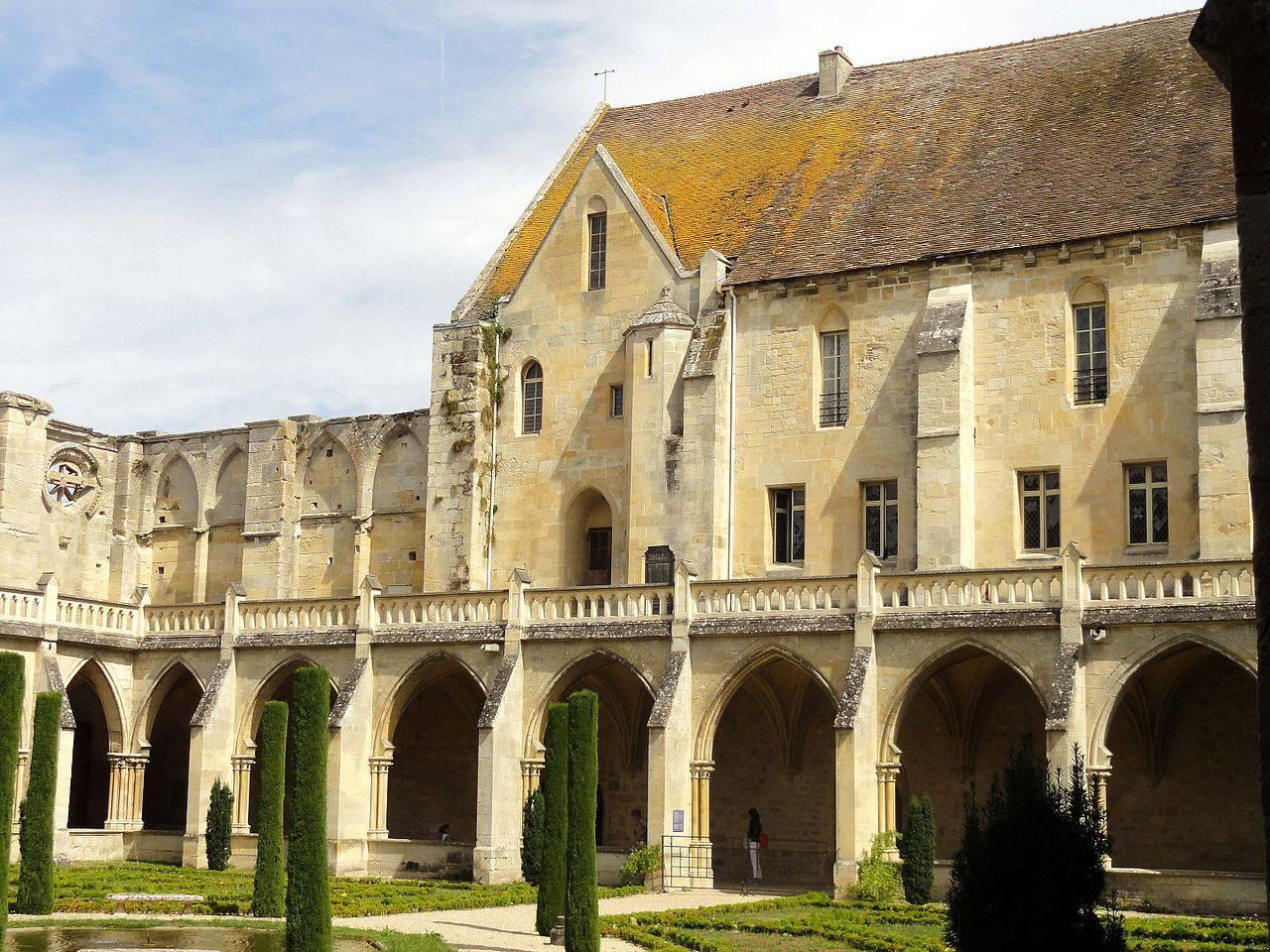 Partie Est de l'Abbaye de Royaumont