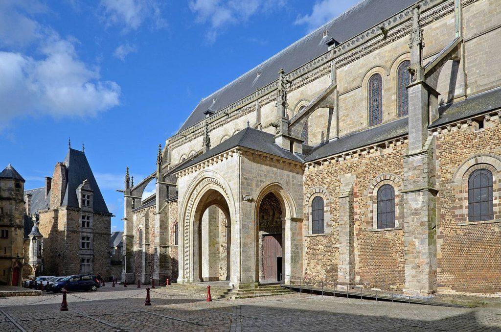 Porte de la Cathédrale Saint-Julien au Mans