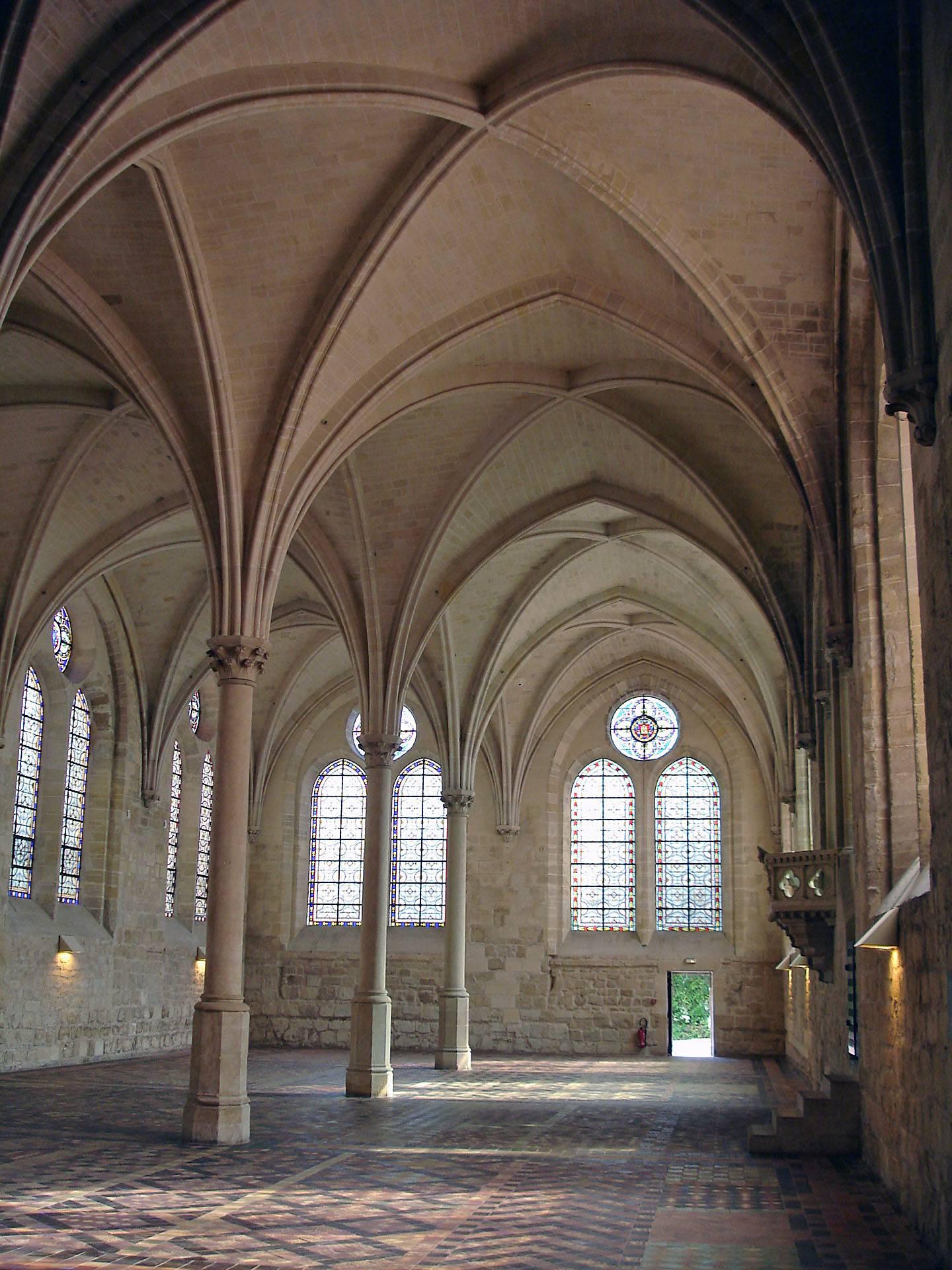 Réfectoire de l'Abbaye de Royaumont