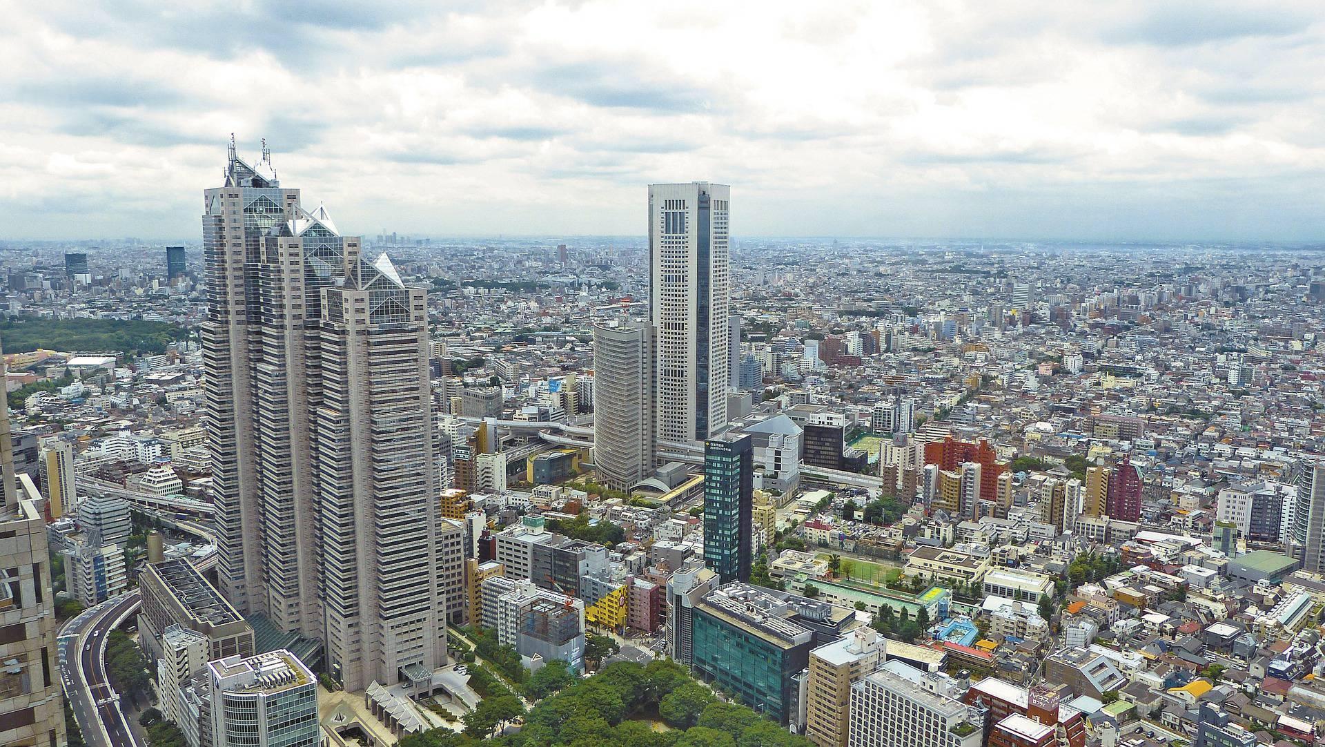 Tokyo (Japon) parmi les capitales en Asie