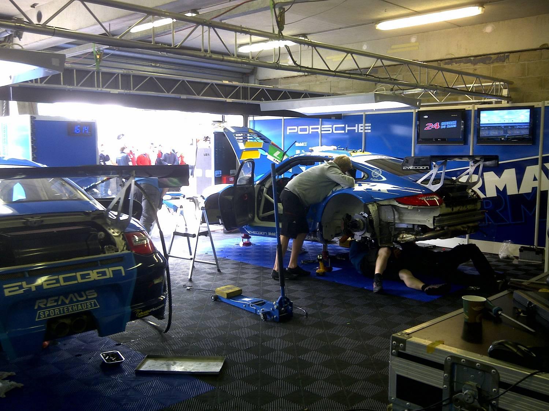 Visite des stands aux 24 heures du Mans