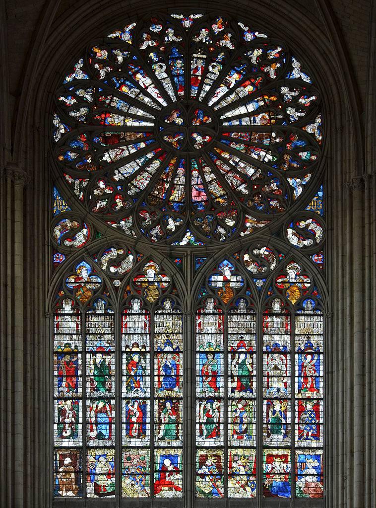 Vitraux de la Cathédrale Saint-Julien au Mans