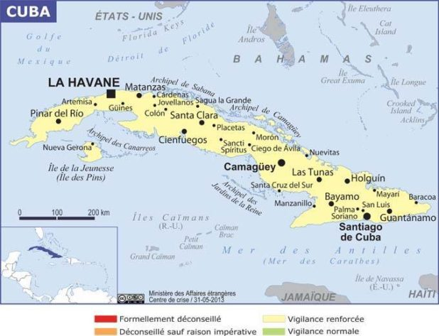Cuba carte