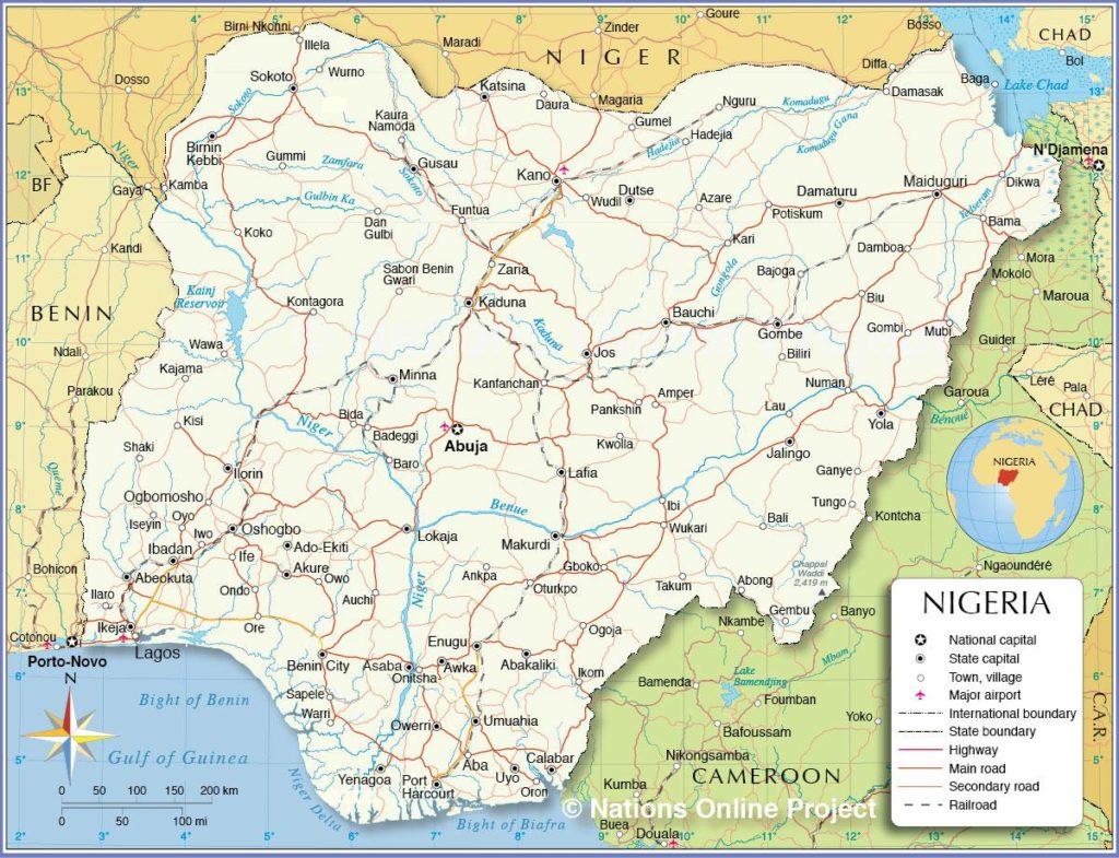 Nigeria carte