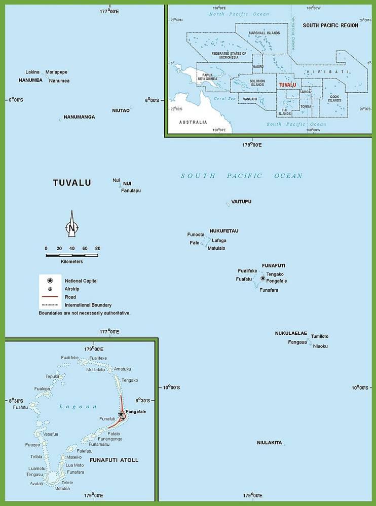 Tuvalu carte