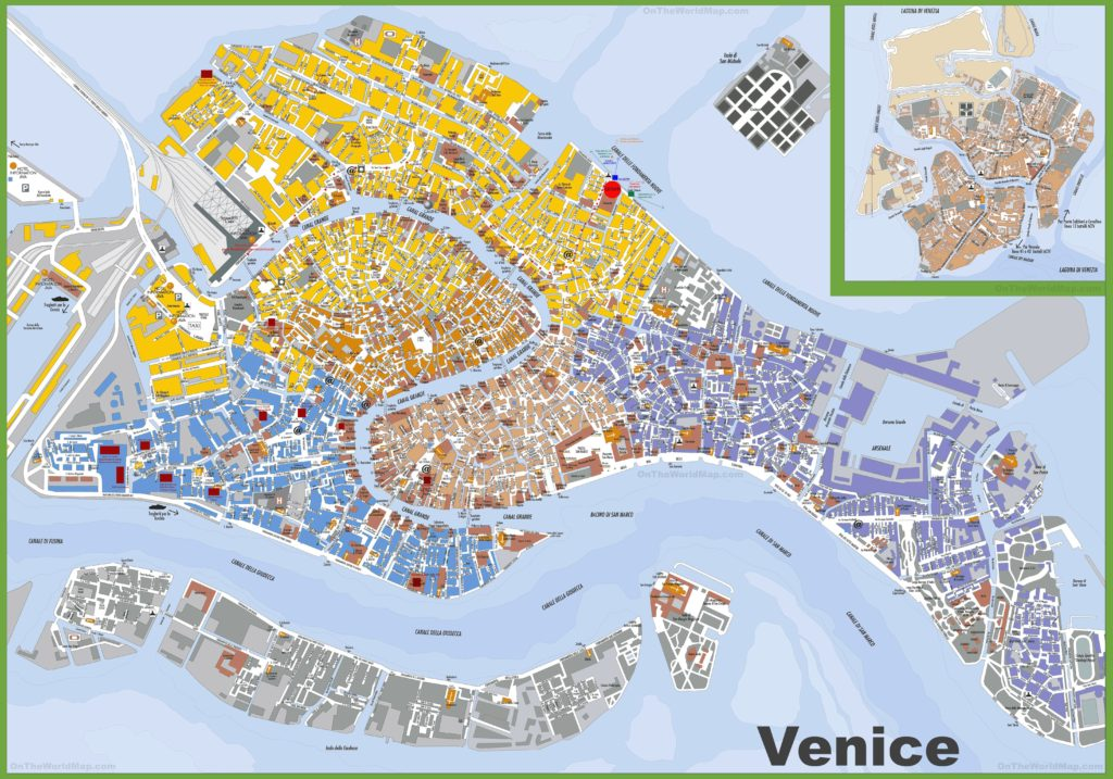Autre carte à Venise