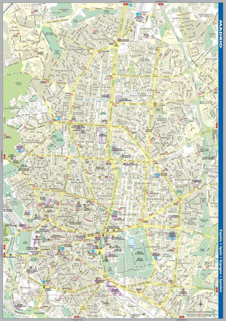 Carte de Madrid