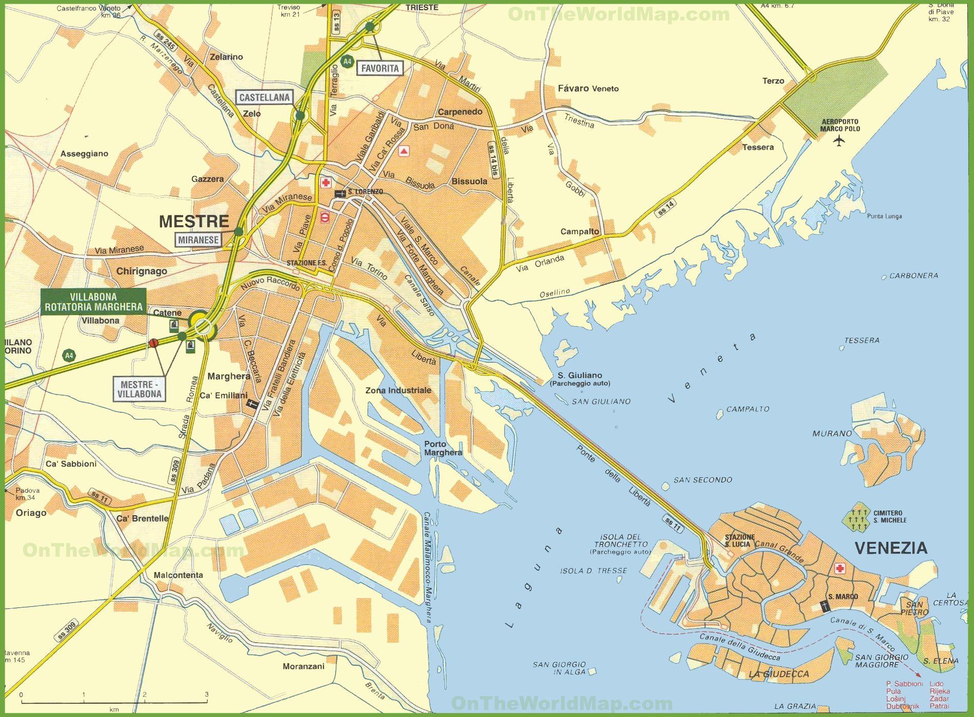 Carte de Venise