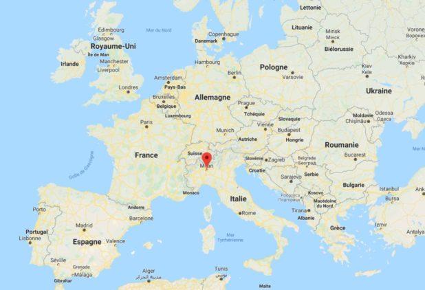 Où se trouve Milan ?