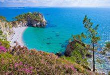 Pointe de Saint-Hernot et la plage de l'Île Vierge