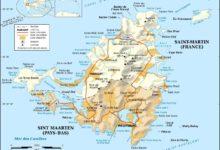 Carte de Saint-Martin