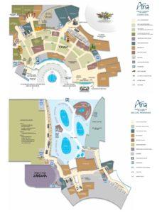 Carte de l'Aria hôtel