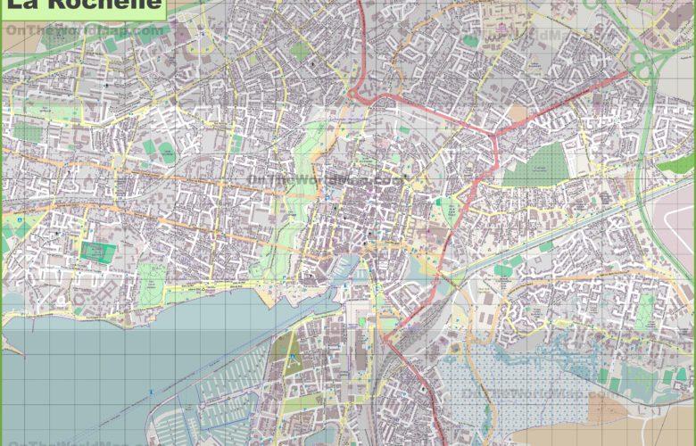 Carte de La Rochelle