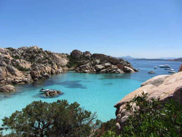 Archipel de La Maddalena et la plage Cala Coticcio
