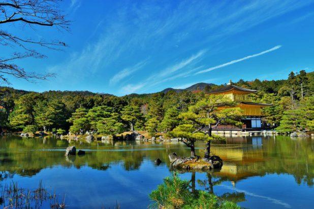Kyoto et les temples au Japon