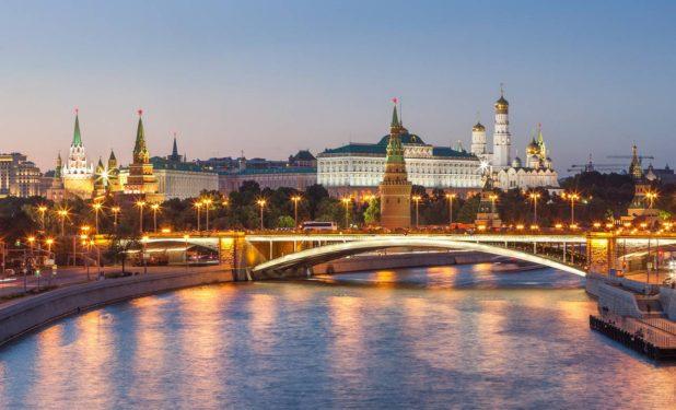 Moscou, capitale de la Russie et parmi les villes les plus belles