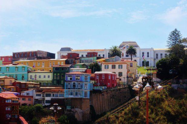 Valparaiso et ses couleurs au Chili