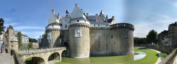 Entrée château de Nantes