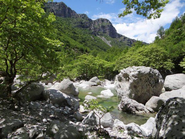Longues randonnées en Grèce