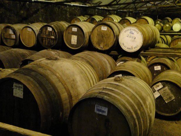 Distillerie de whisky en Écosse