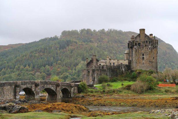Paysage sur la route du whisky en Écosse