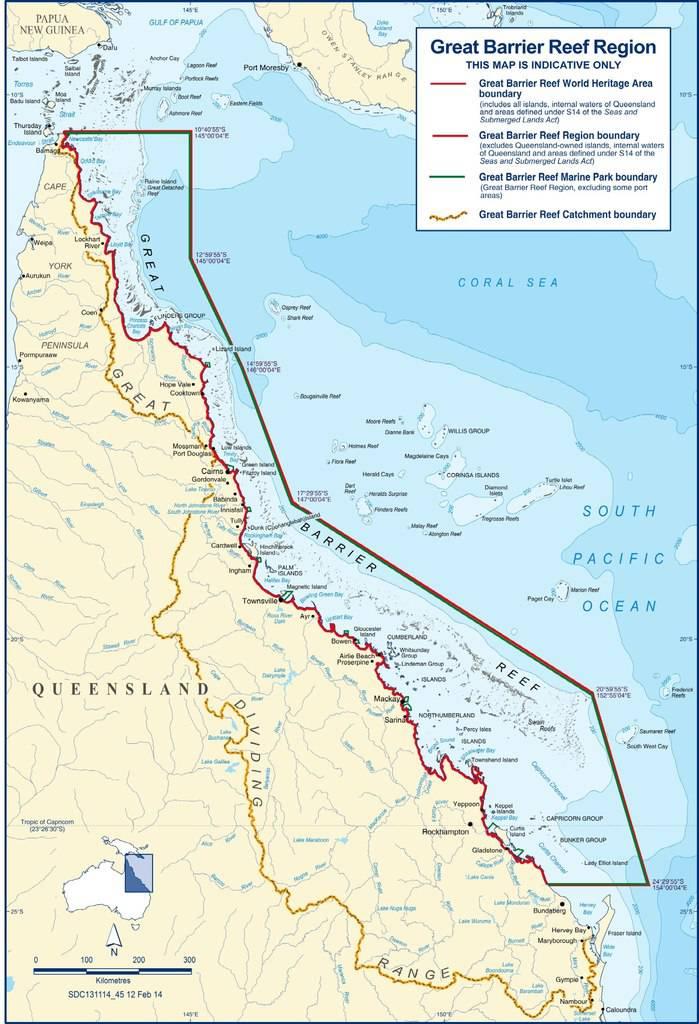 Carte Australie Grande Barriere De Corail.Grande Barriere De Corail Un Paysage Idyllique En Oceanie