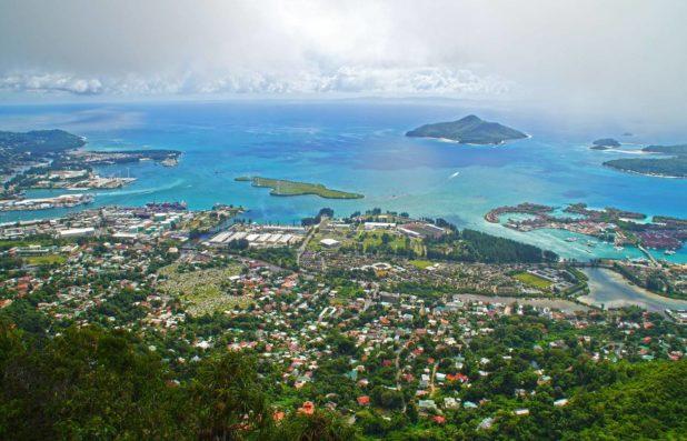Victoria capitale des Seychelles